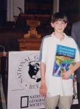 Keith Williams 1999 Vermont Geography Bee